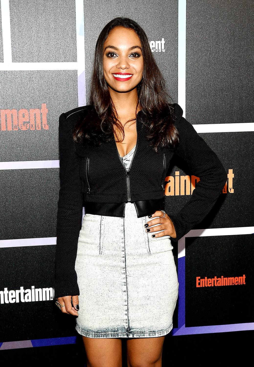 Lyndie Greenwood - September 24, 2014 - Sleepy Hollow star Lyndie Greenwood stopped by to talk about the latest season of the TV series and her real-life scare. Watch a clip now!  (Photo: Ethan Miller/Getty Images)