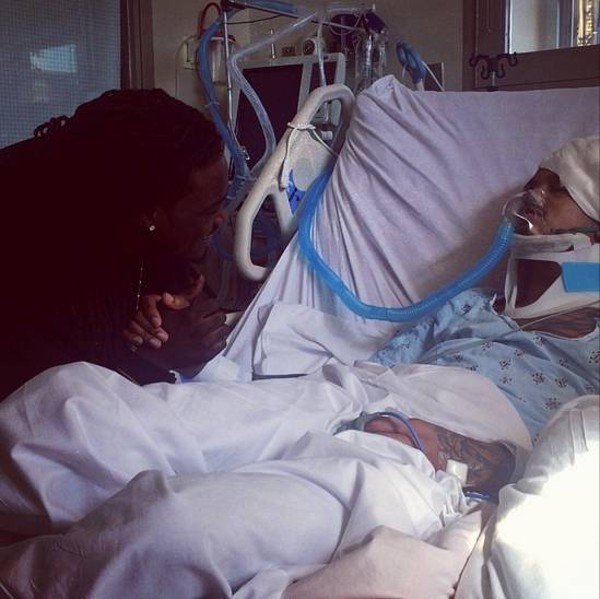 Get Well, August! - August Alsina is still recovering from his recent collapse but he's getting good energy from many of his celebrity friends. Nicki Minaj paid the singer a visit while Tyrese Gibson, Kevin Hart and more posted a series of videos on Instagram with well wishes. We echo that sentiment and wish August Alsina a speedy recovery.  (Photo: August Alsina via Instagram)
