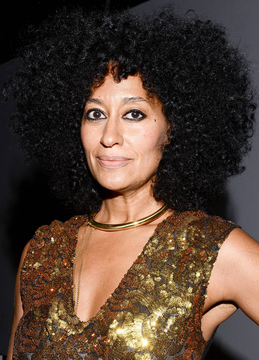 Tracee Ellis Ross - Oh, sorry. We just needed a moment to compose ourselves after taking in the glory that is Tracee's hair! This season, it?s all about shape, so ask your stylist for a cut that accentuates your texture, then use Tracee?s curly girl styling tips to make your spirals pop.  (Photo: Vivien Killilea/Getty Images)