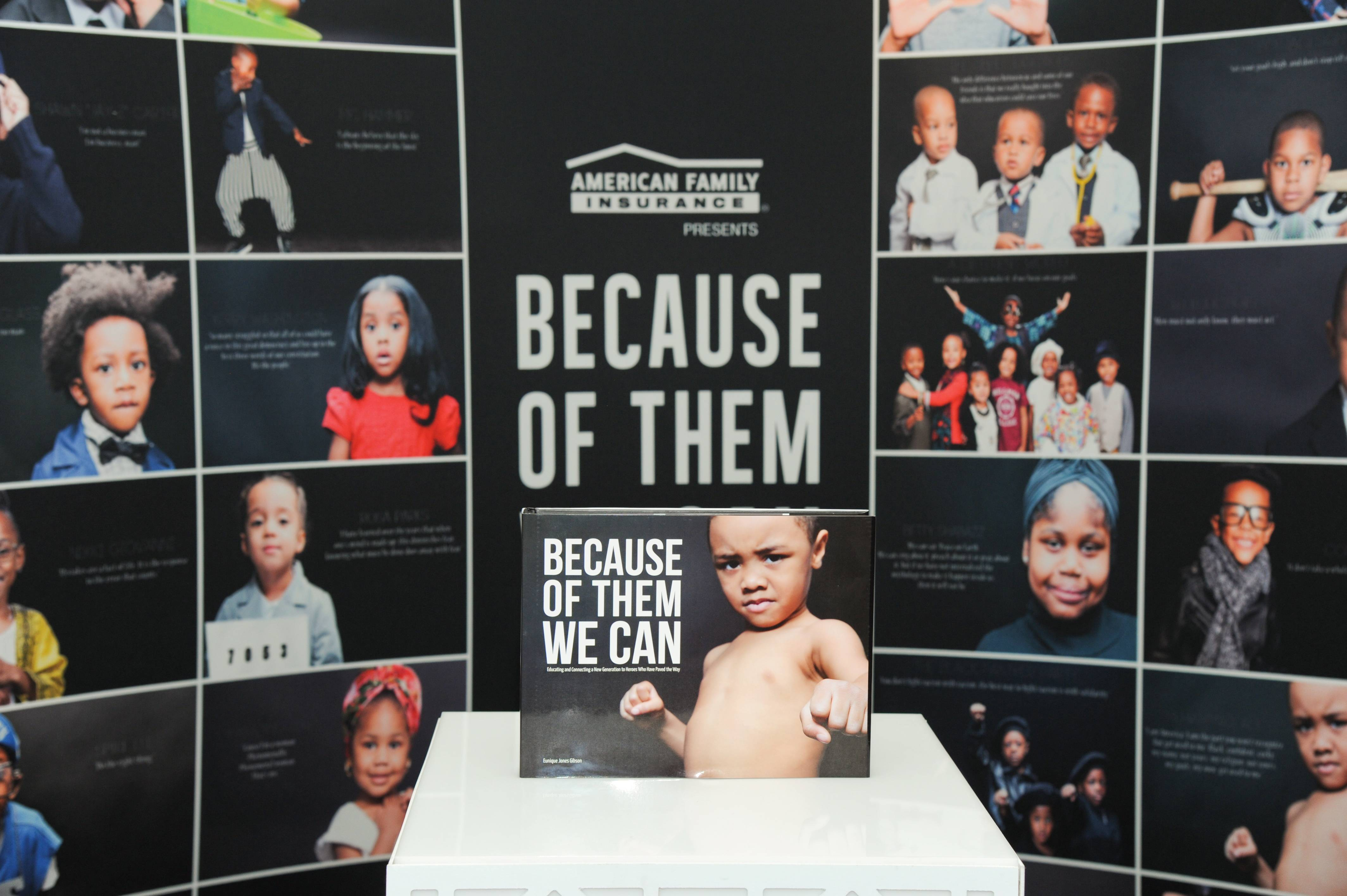 Because of Them, We Can Book - What started as an effort to build up the self-esteem of our children while fighting against stereotypes back in February 2013, quickly spilled long past Black History Month. The photographer's project soon developed into a movement that continues to this day. Her coffee table book of 365 photos depicting children as some of our most beloved icons will be available March 21.  (Photo: Vladimir Banjanac for BET)
