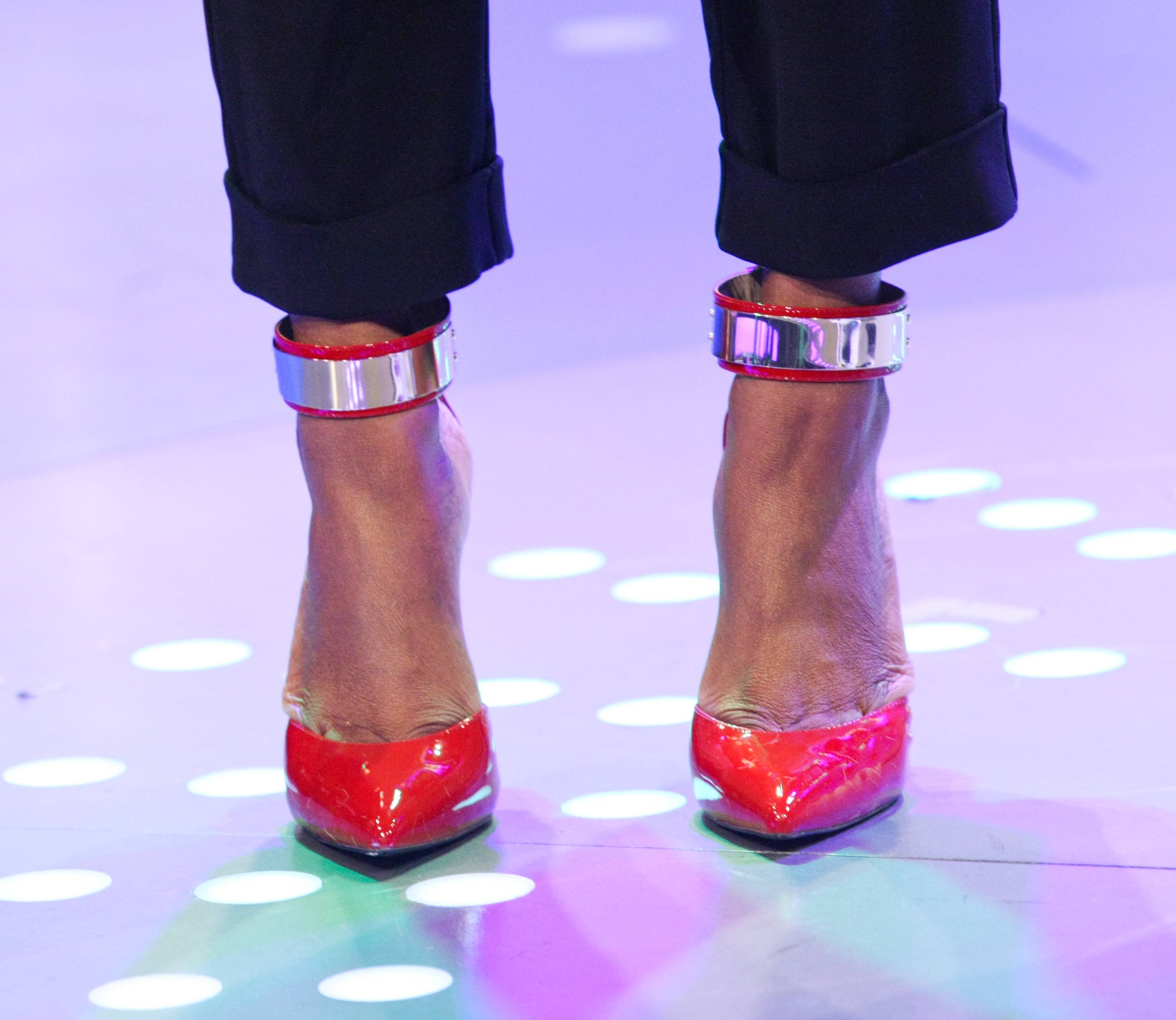 In Those Heels - (Photo: Bennett Raglin/BET/Getty Images for BET)