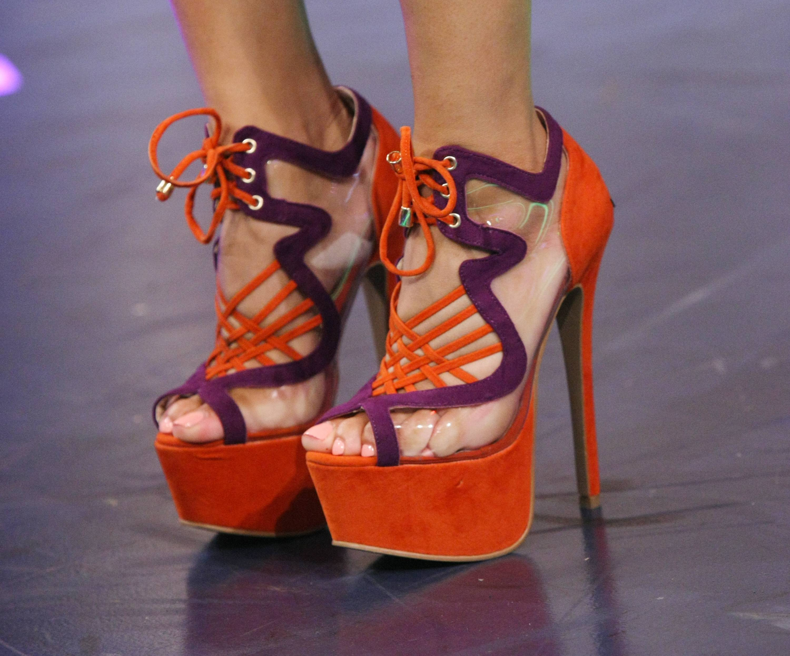 The Shoes She's In - (Photo: Bennett Raglin/BET/Getty Images for BET)