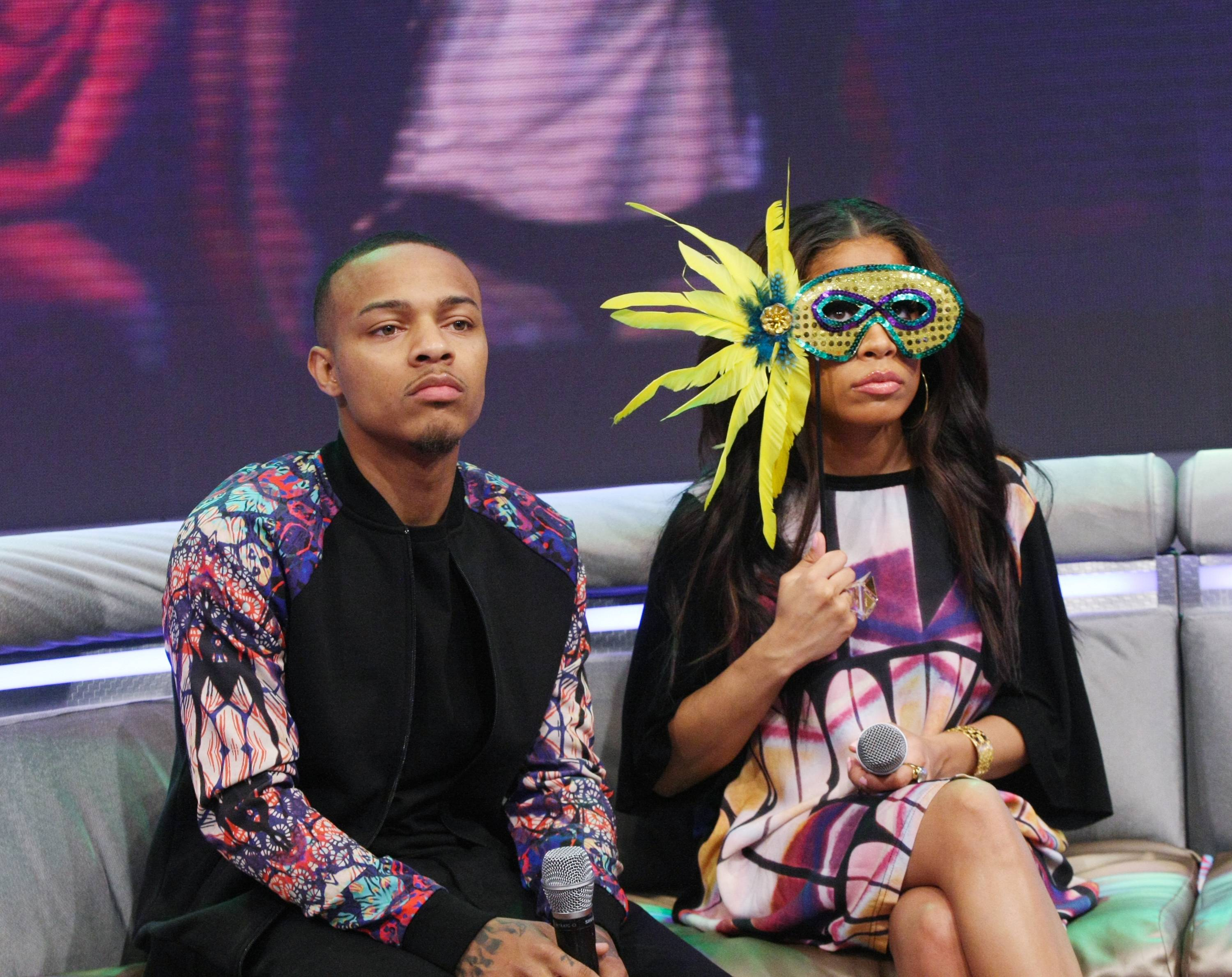 Behind the Veil - NEW YORK, NY - MARCH 04: 106 & Park hosts Bow Wow and Keshia Chante attend 106 & Park at BET studio on March 4, 2014 in New York City.(Photo: Bennett Raglin/BET/Getty Images for BET)
