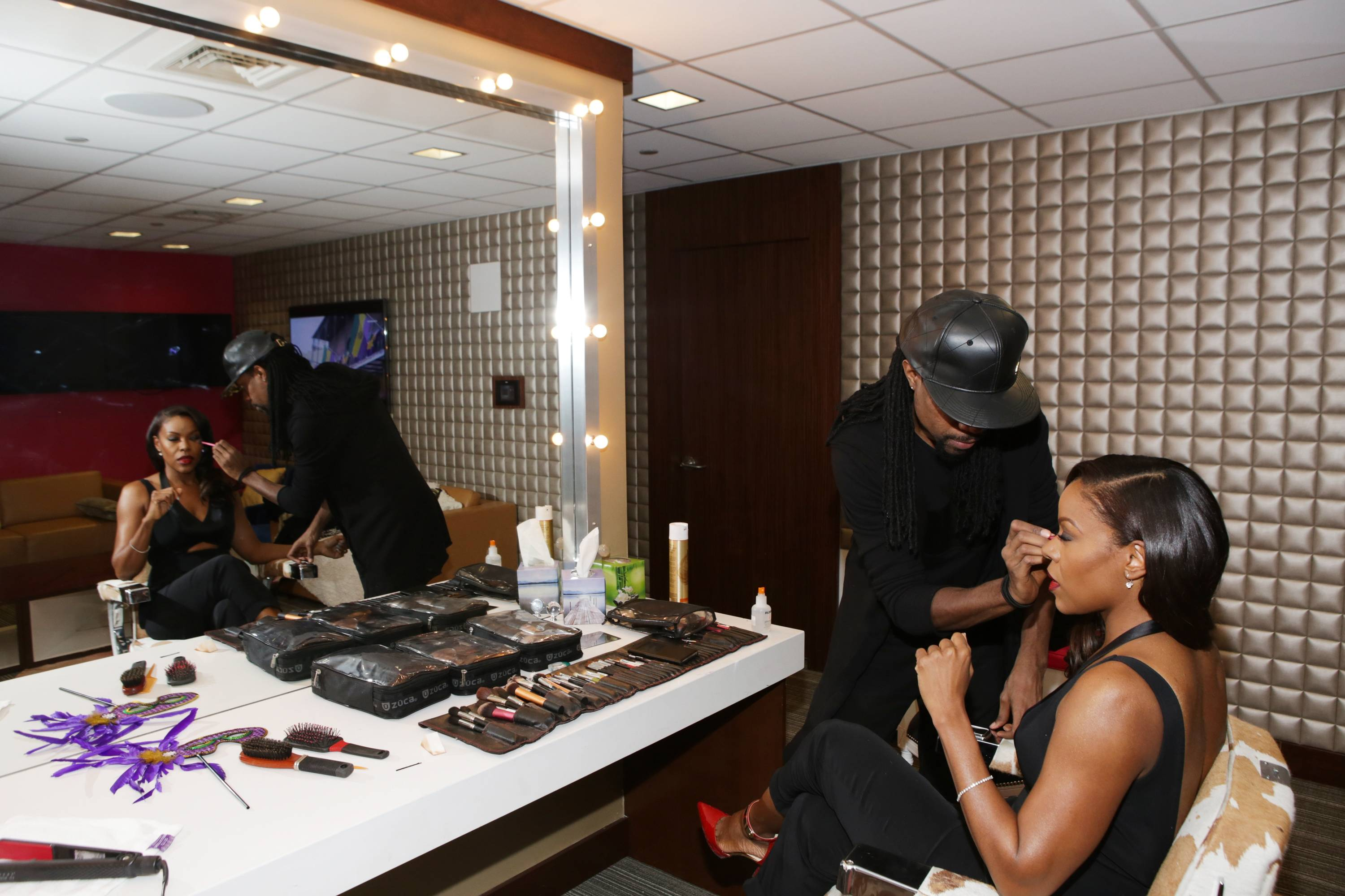 Making Up - (Photo: Bennett Raglin/BET/Getty Images for BET)