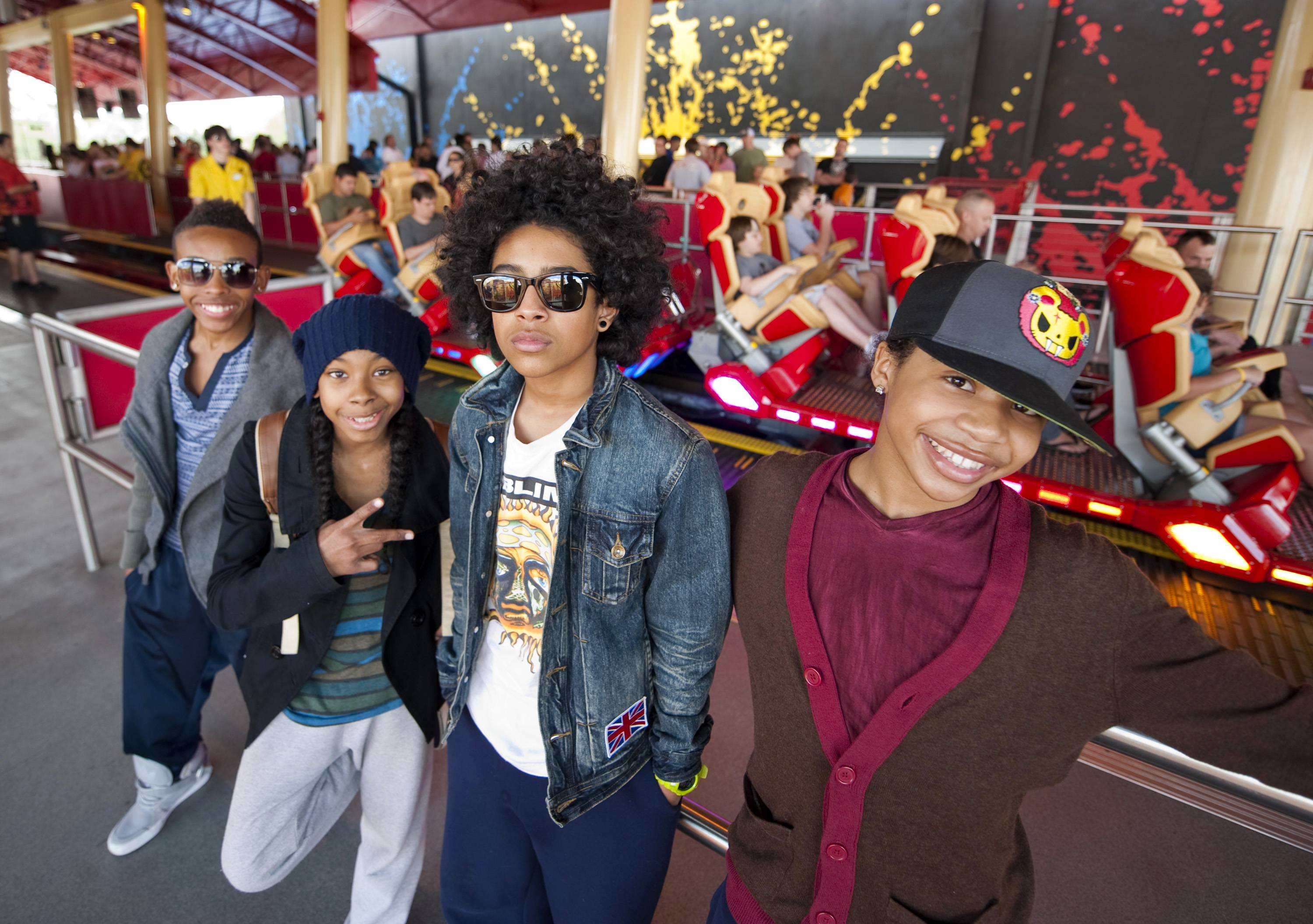 Fun, Fun, Fun! - Mindless Behavior are out to make music fun again. And that's a big reason why their fans love them so much.(Photo by Kevin Kolczynski/Universal Orlando via Getty Images)