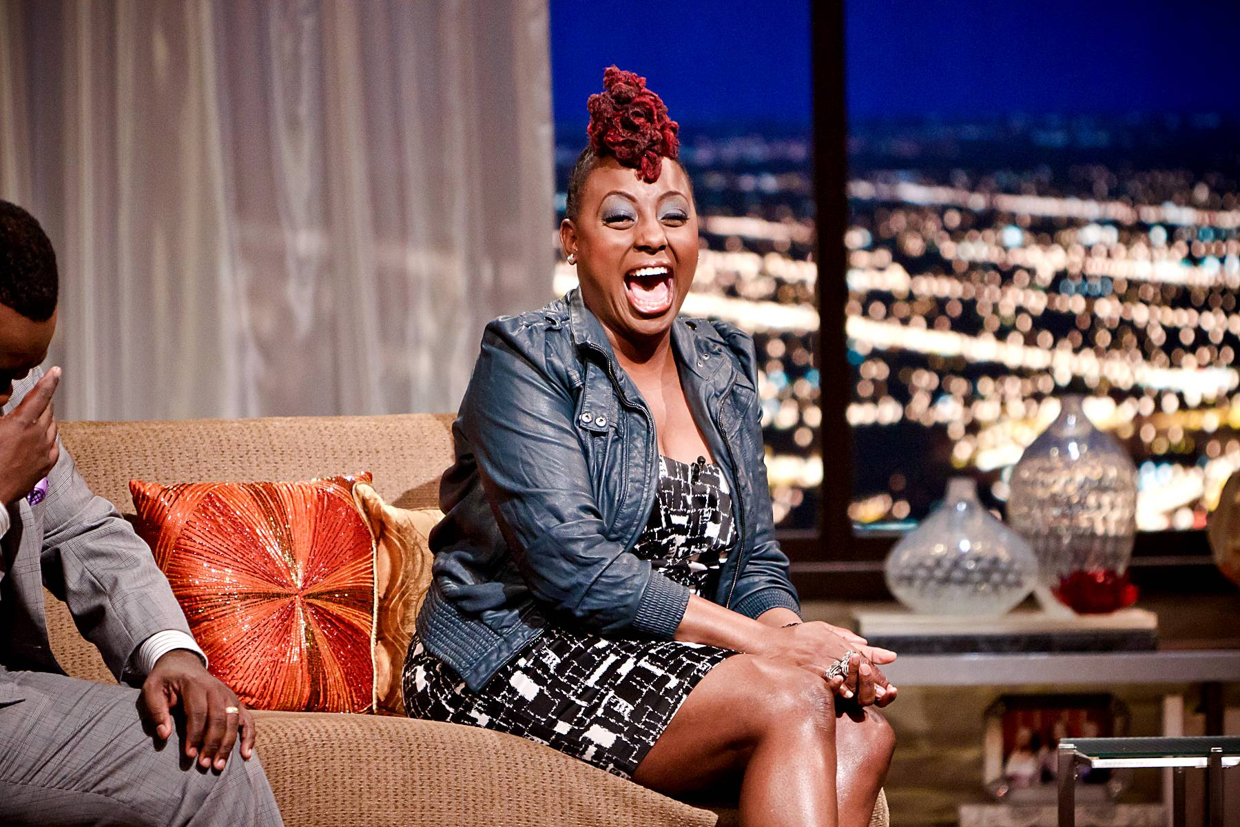 """A Personal Piece - Pieces of Me is Ledisi's most personal album yet. Says the singer, """"Here it was like writing in your journal and saying all the things you wish you could say.""""(Photo: Darnell Williams/BET)"""