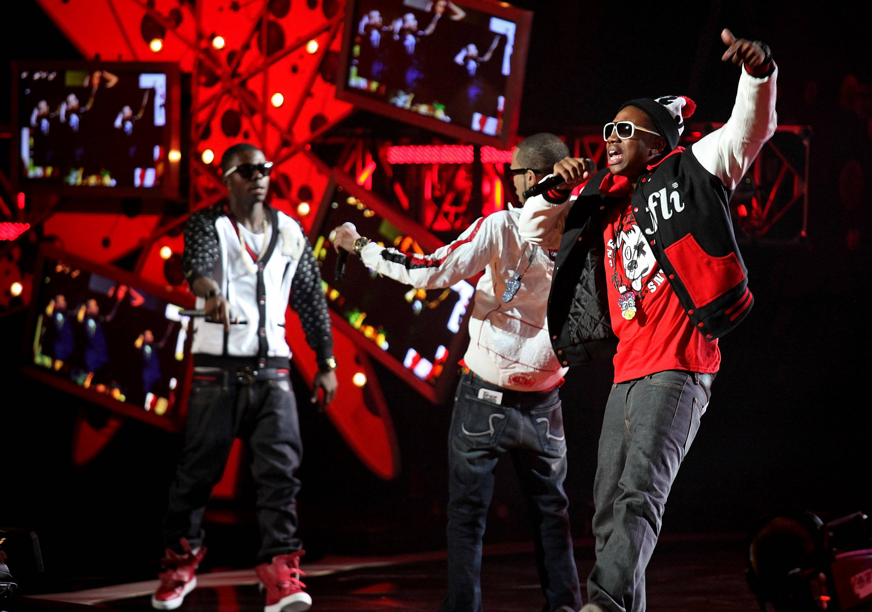 Cali Swag District - The members of Cali Swag District weren't even born when Doug E. Fresh originated the move that would inspire their current dance. (Photo: Ben Hider/PictureGroup)
