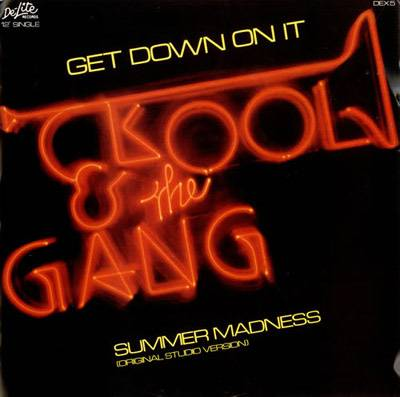 """""""Get Down on It"""" - In the '80s era of post-disco, Kool & the Gang smoothed out the dance sound with this R&B chart-topping hit.  (Photo: De-Lite Records)"""