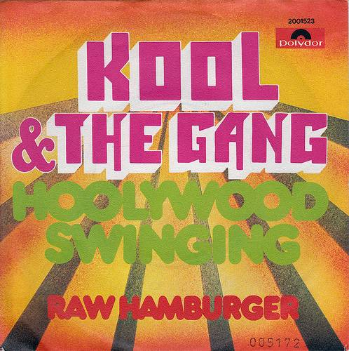 """""""Hollywood Swinging"""" -  At a time when Black leaders in entertainment ? from Motown to the TV showSoul Train ? moved to Hollywood, Kool & the Gang crafted the perfect anthem for such a development. In 1997, DJ Kool would give the classic a new life as the intro to his own party smash """"Let Me Clear My Throat."""" (Photo: Polydor Records)"""