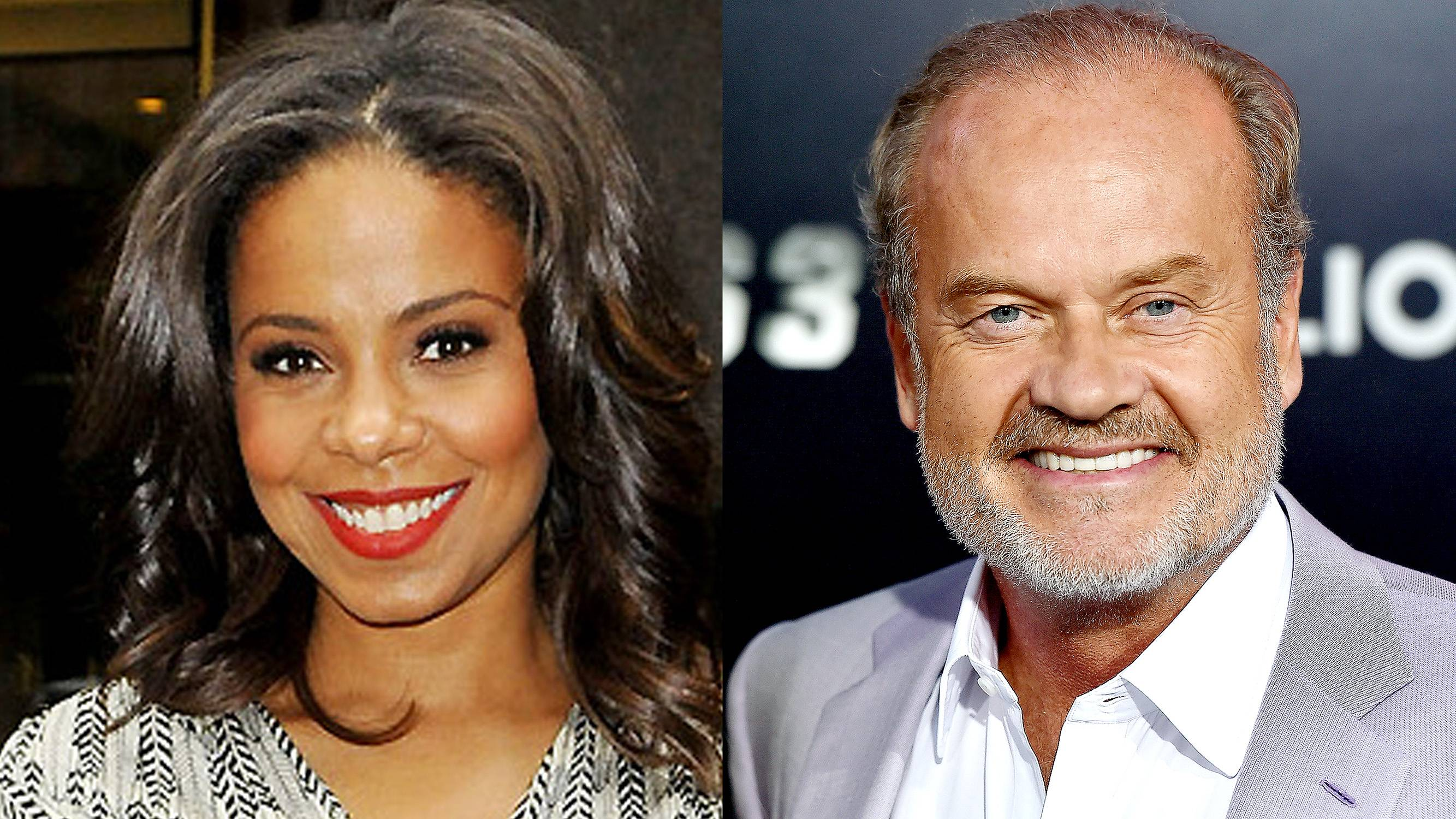 8. She Starred Alongside Kelsey Grammer in a TV Series - She co-starred in the Starz series Boss alongside the executive producer of Girlfriends.  (Photos from Left: Enrique RC/PacificCoastNews.com, Frazer Harrison/Getty Images)