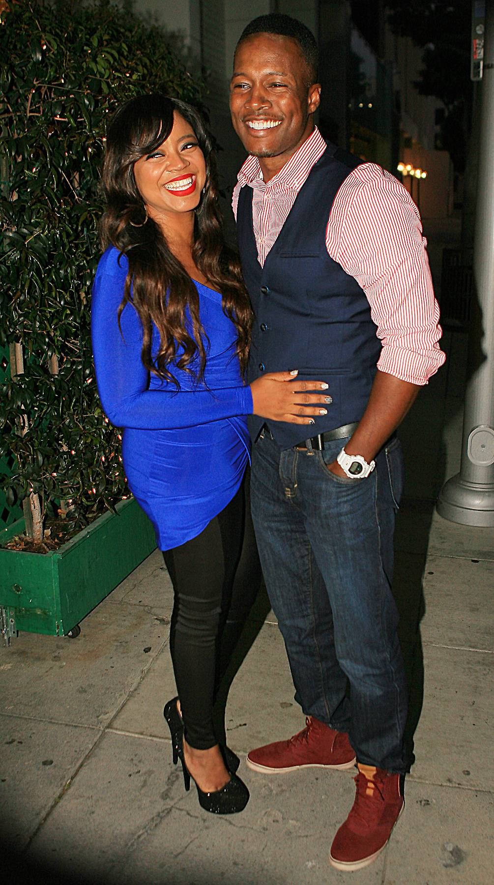 Flex and Shanice - Check out Flex Alexander and Shanice this Sunday on Lift Every Voice at 10A/9C!(Photo: MCGM / Splash News)