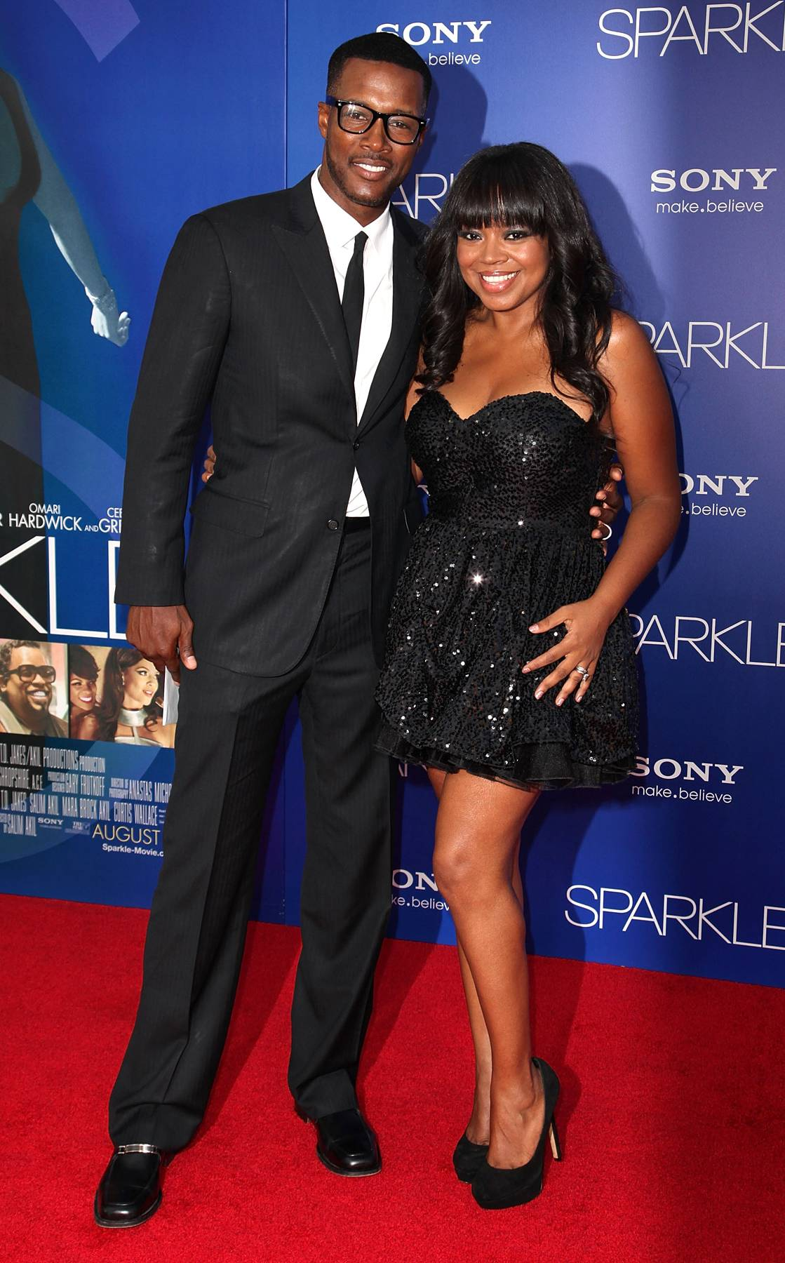 Flex and Shanice - One on One star Flex Alexander and '90s R&B singer Shanice take on the world together while facing various obstacles in their careers. (Photo: WENN)