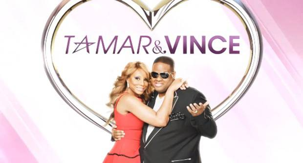 Tamar and Vince - Tamar and her husband, Vince Herbert, take their talents to reality TV with this spin-off of Braxton Family Values. (Photo: WE TV)