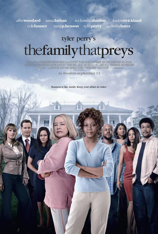 1.She Was in The Family That Preys - She's Tyler Perry tested. Kevin can't even make that claim.  (Photo: Tyler Perry Company)
