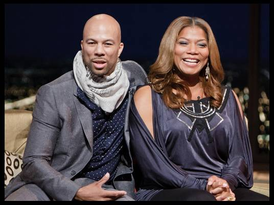 Common & Queen Latifah - The rapper/actors star in the romantic comedy, ?Just Wright.? The film is Common?s first leading role.