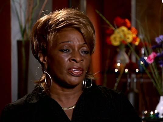 Keyshia Cole - Yvonne, Keyshia's foster mom and one of the reasons Frankie erupts.