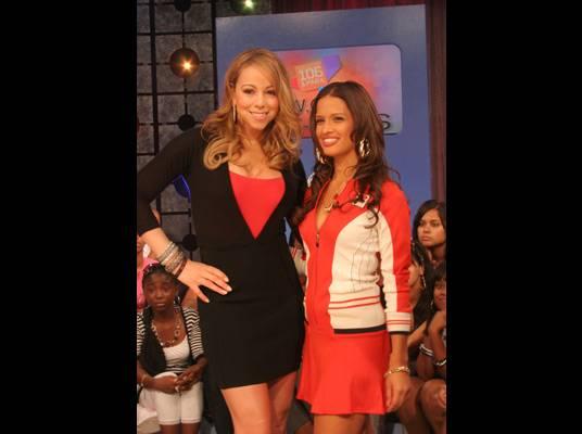 Mariah Carey - Rocsi battled Mariah in a diva style showdown.