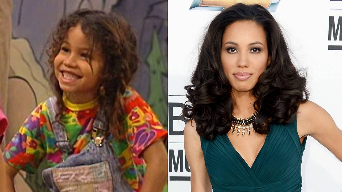 Jurnee Smollett - Jurnee Smollett was all smiles and hair as the grade school cutie Denise Frazer in Full House. She's grown up to be quite the stunner and we're glad to see the Temptation: Confessions of a Marriage Counselor star replace her overalls with more stylish finds.   (Photos from left: ABC, Frazer Harrison/Getty Images for ABC)