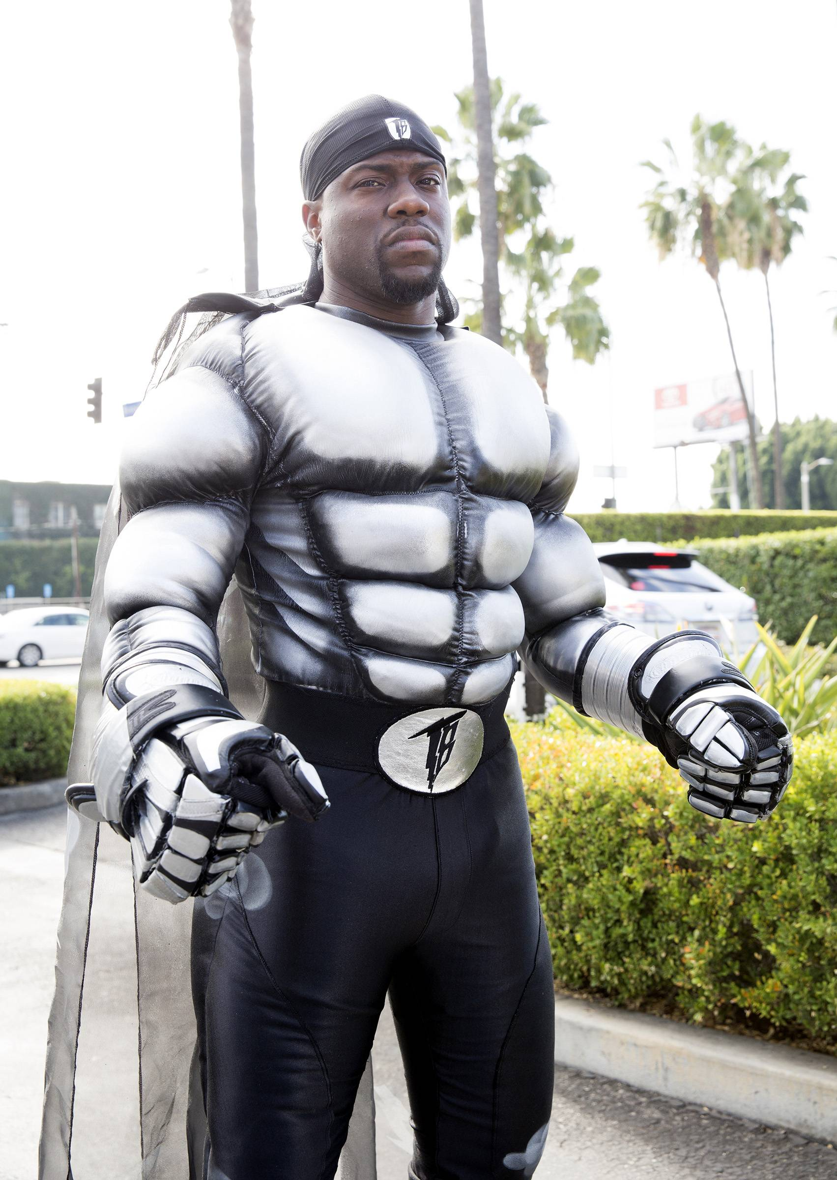 When you're auditioning for the new Steel reboot. - (Photo: BET)