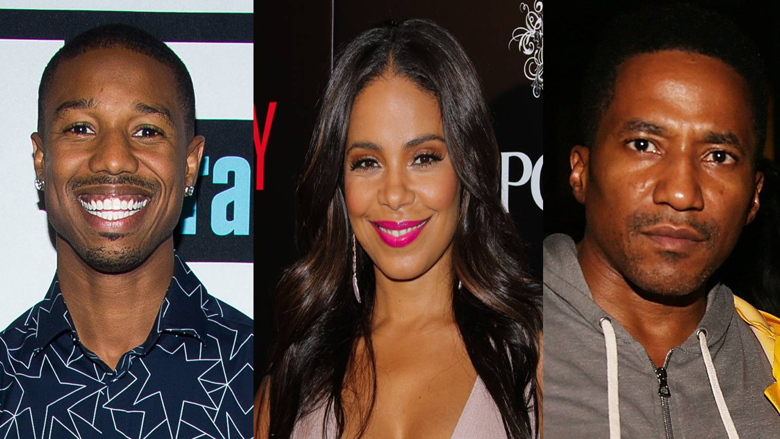 13 Perfect Guys for Sanaa Lathan - We're not sure, but we think if given the chance and right moment these fellas could catch Sanaa's eye.(Photos from left: Charles Sykes/Bravo/NBCU Photo Bank via Getty Images, Paul Archuleta/FilmMagic,Shareif Ziyadat/FilmMagic)