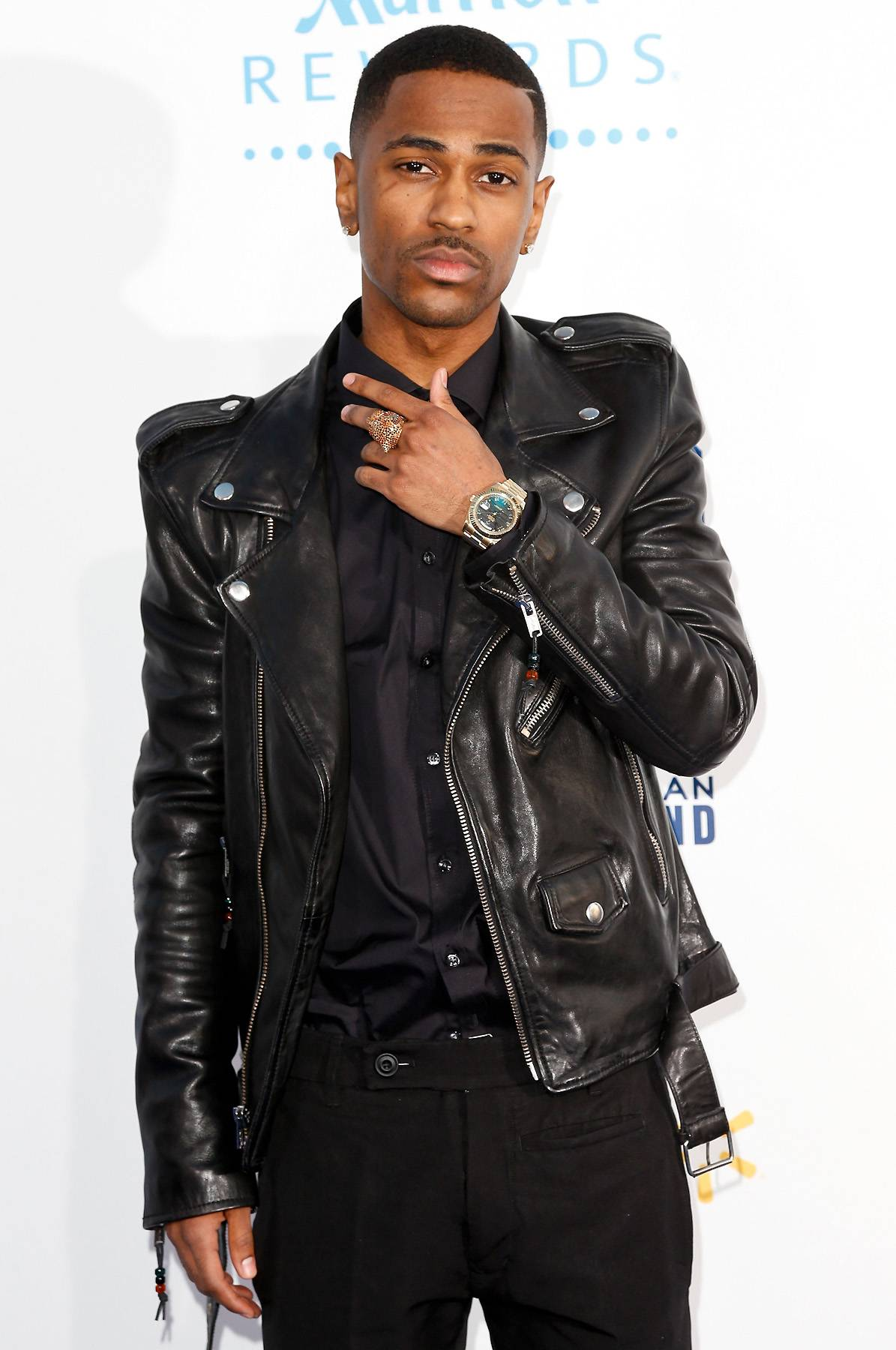 """Big Sean, 'One Man Can Change the World' - When the rapper first burstonto the scene, his unwavering love for his grams was duly noted. She's since passed away, but the big homie said this on the track """"One Man Can Change the World,"""" """" My grandma told me if you write your name in stone, you'll never get the white out / I grinded out that black hole then performed up at the White House.""""  (Photo: Imeh Akpanudosen/Getty Images)"""
