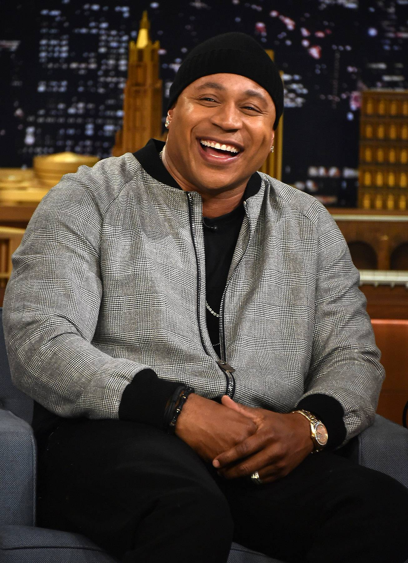 """LL Cool J, 'Big Mama (Unconditional Love)'  - Mr. Smith was primarily raised by his granny, Ellen Griffin, who is the """"mama"""" in the track """"Mama Said Knock You Out."""" When the beautiful lady passed away in 2002, he dedicated the song """"Big Mama (Unconditional Love)"""" to her.  (Photo: Theo Wargo/NBC/Getty Images for """"The Tonight Show Starring Jimmy Fallon"""")"""