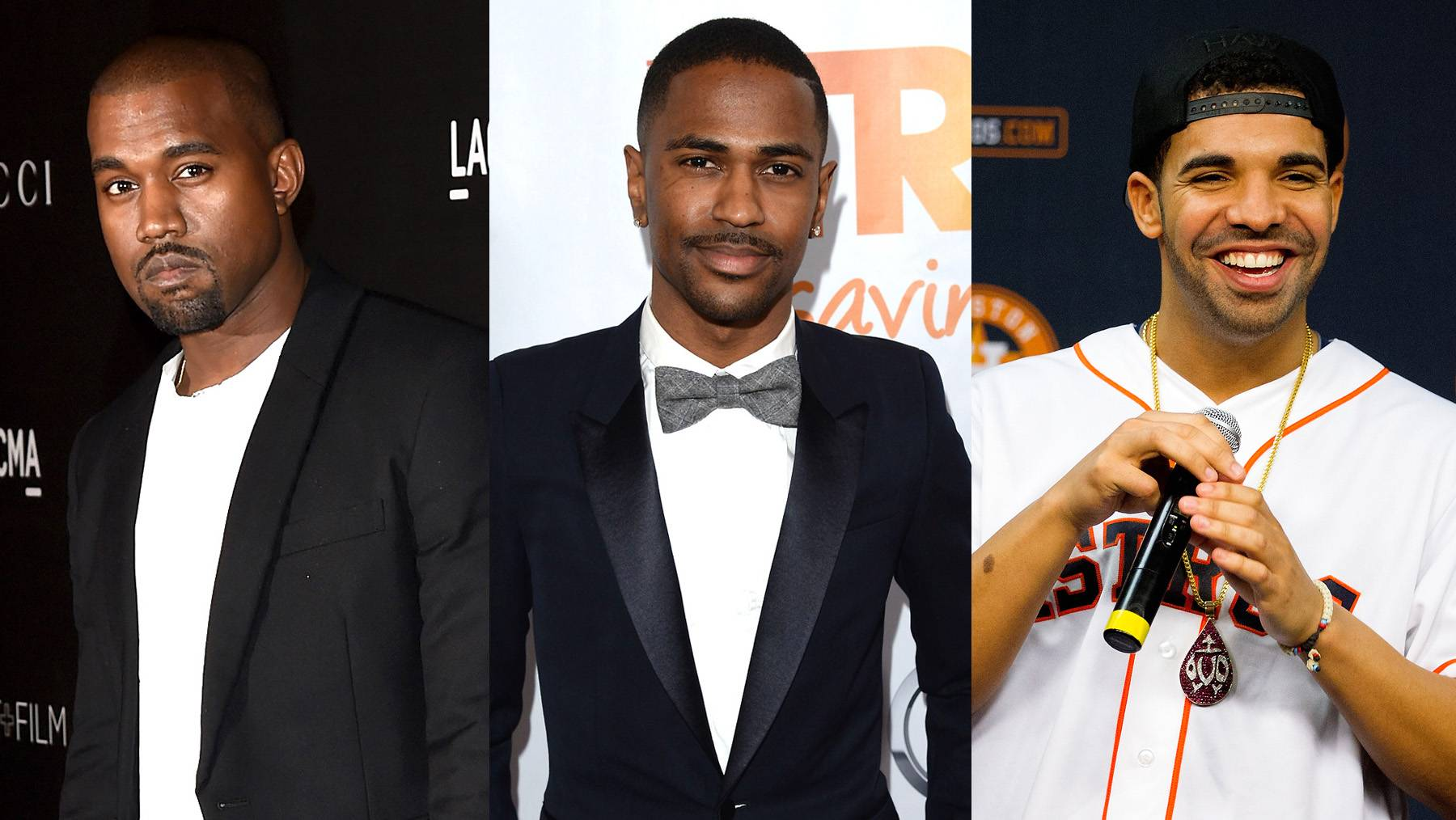 7 Rappers Who Love Their Grandmas - We got to see Nelly in an extremely stripped down moment as he visited his grandma while she was in the hospital. Take a look at a few rappers who expressed their love for their grannies via song. Think of this as an early Mother's Day present.   (Photos from left: Jason Merritt/Getty Images for LACMA, Jason Merritt/Getty Images for Trevor Project, Bob Levey/Getty Images)