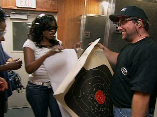 The Best of Keyshia Cole - Keyshia and Duwanna get their 'Charlie Angel' on at the shooting range.