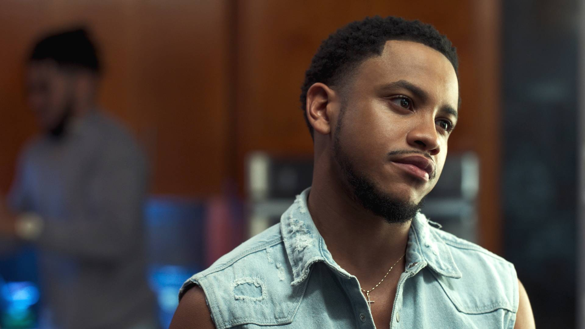 Tequan Richmond looks unbothered. - (Photo: BET)