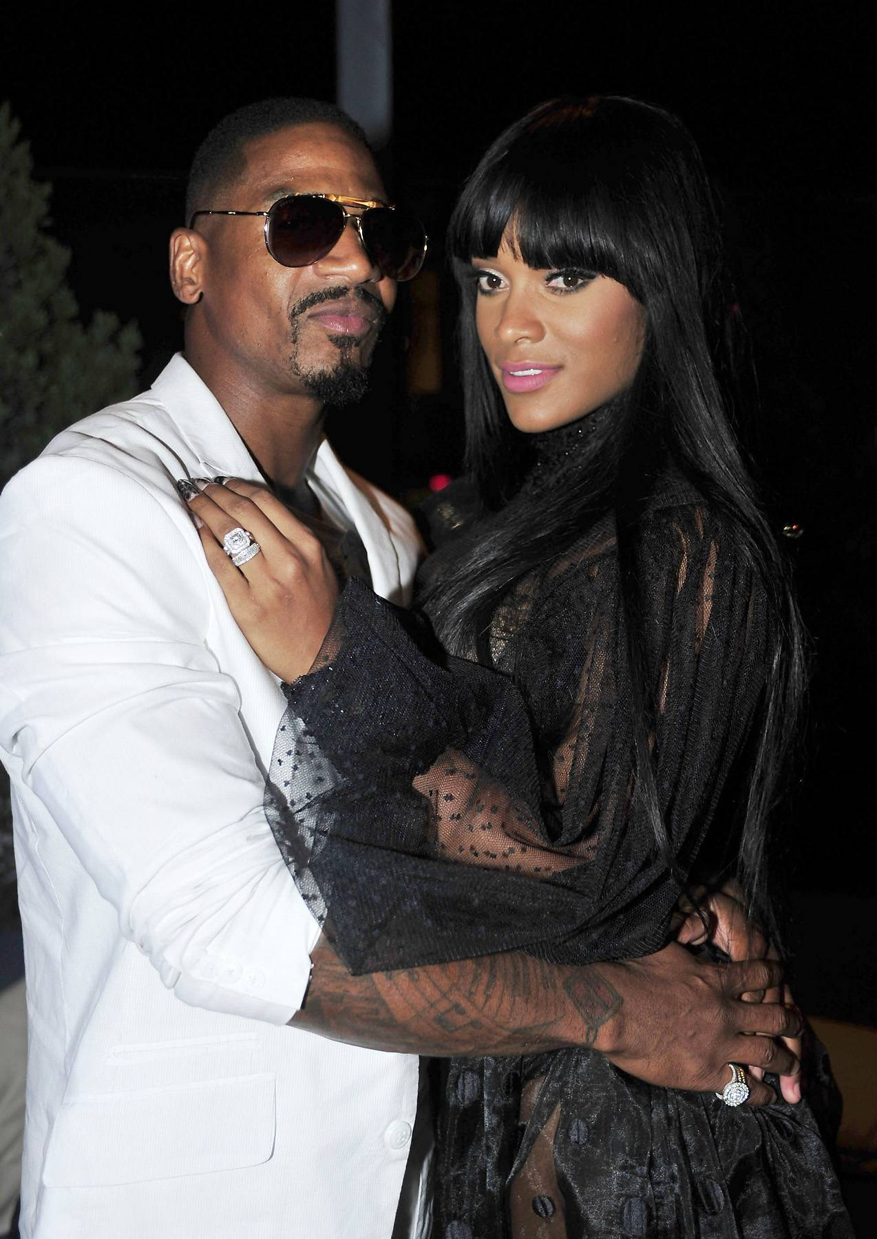 """Stevie J and Joseline Address More Rumors - Stevie J and Joseline Hernandez have addressed the rumors that they are getting evicted from their Atlanta home...kind of. """"Steebie"""" released an Instagram video of himself in a U-Haul van in which he made a passive aggressive statement saying that he and Joseline are """"moving up like George and Weezy."""" He also added, """"Coming soon, Stevie J and Joseline show."""" So...are they getting evicted or nah?  (Photo: Moses Robinson/Getty Images for UrbanDaddy)"""