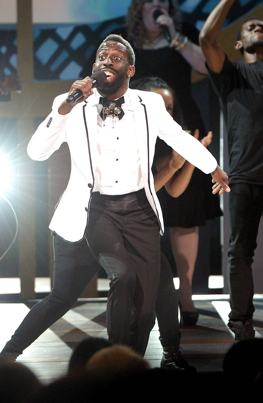 The Show Always Goes On - Want to learn how to perform like a pro? Watch Tye Tribbett and learn. Most contestants that enter the Apollo Live stage dream of performing in front of huge crowds and gaining the appreciation from the audience. Tye Tribbett is the man to show you how. Get your notepads ready! (Photo: Jason Kempin/Getty Images for BET)