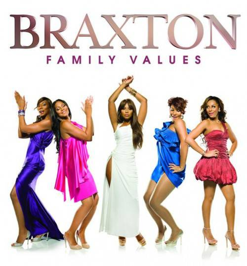 Braxton Family Values - The show chronicled the life of the Braxton sisters: Toni, Tamar, Traci, Towanda and Trina, plus their mother, Evelyn. (Photo: WE TV)