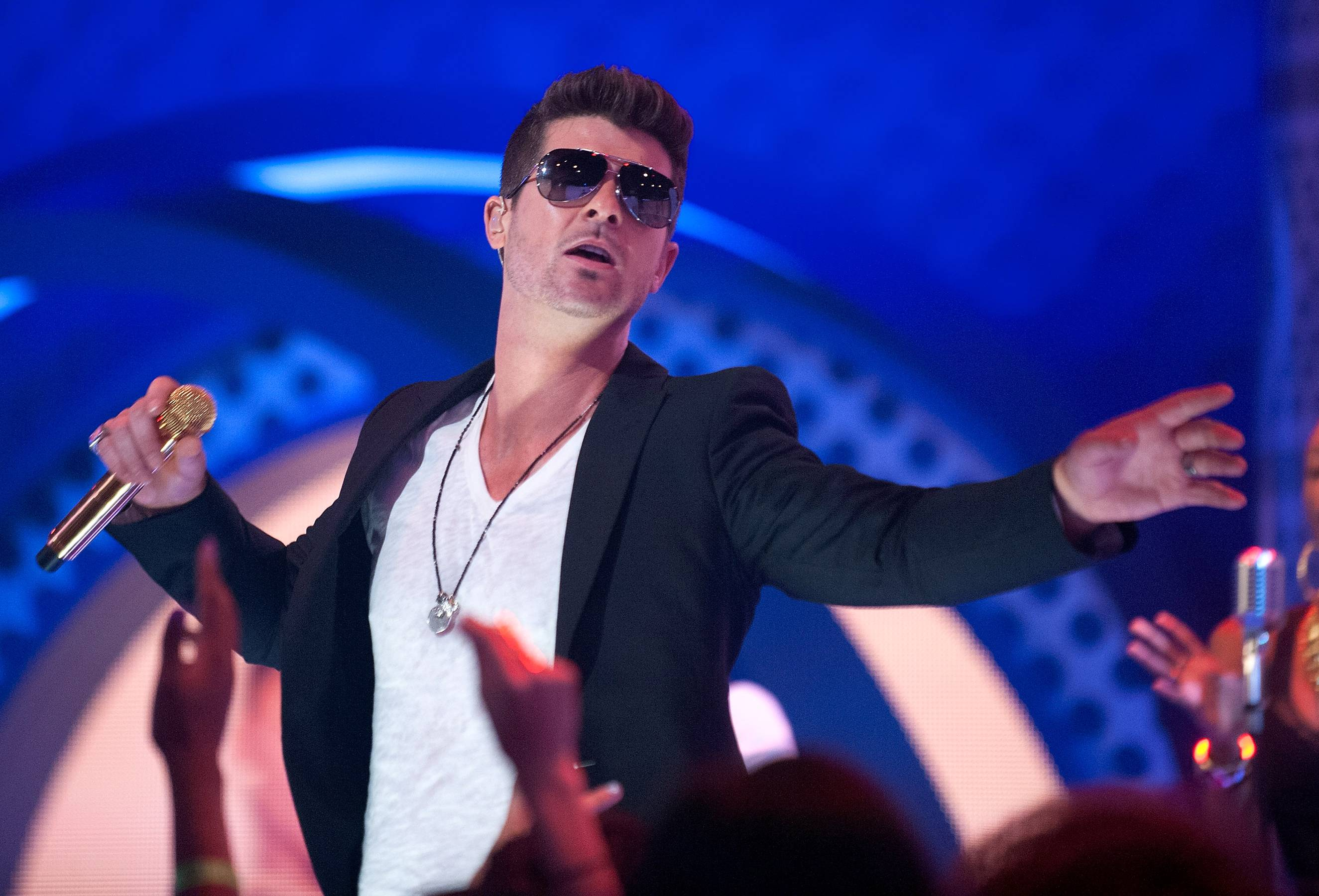 Best R&B/Soul Male Artist: Robin Thicke - The soul singer left the deep slow jams behind for the pop charts and he scored big(Photo: D Dipasupil/BET/Getty Images for BET)