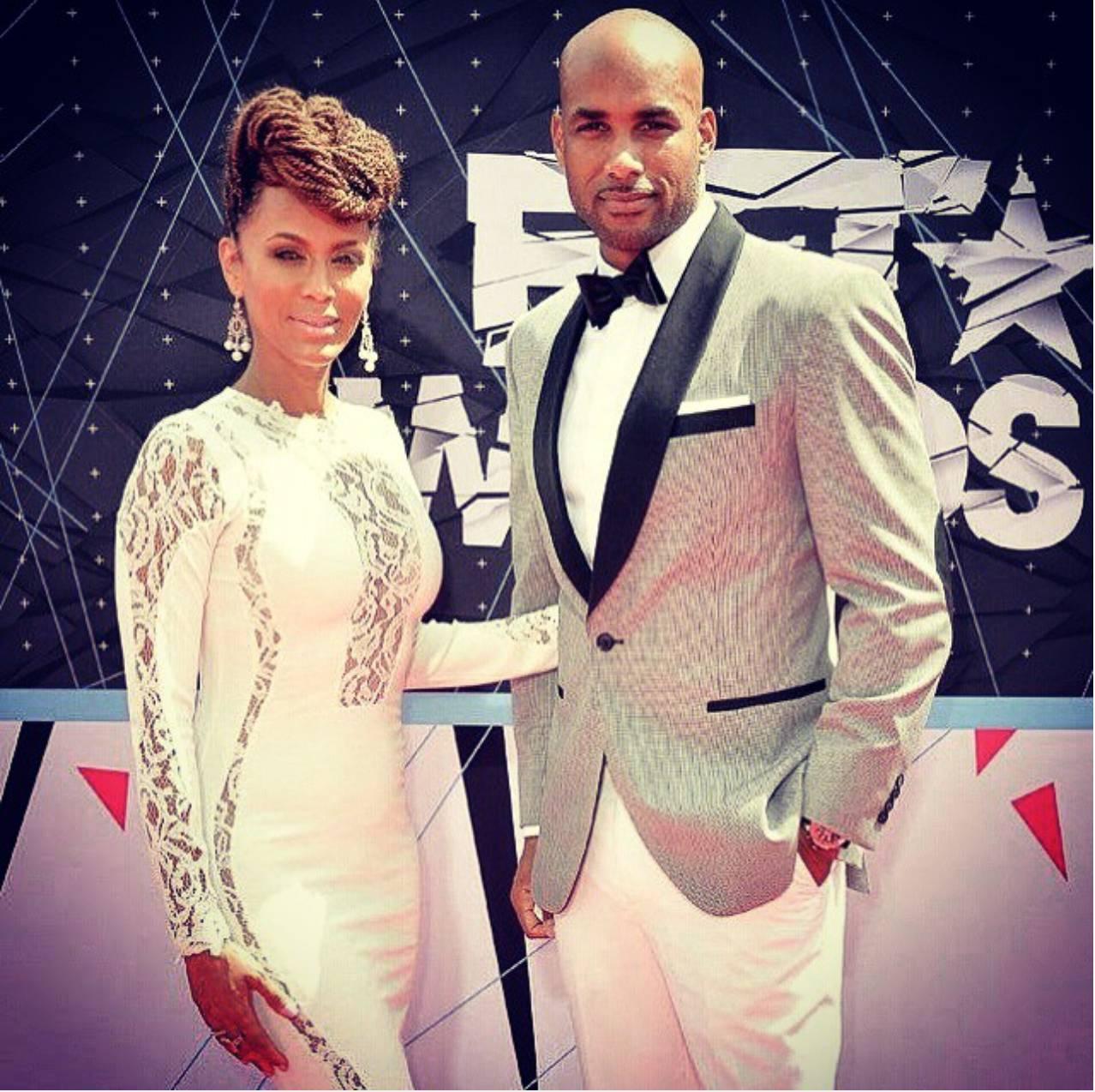 Boris and Nicole at BET Awards - Yes the two looked splendid at theAwards this year.  (Photo: Boris Kodjoe via Instagram)
