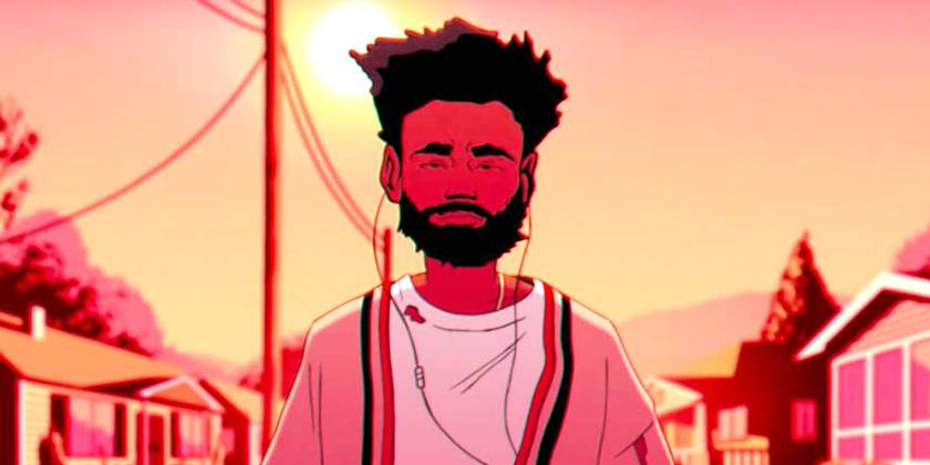 """Childish Gambino's animated """"Feels Like Summer"""" is nominated for Video of the Year. - (Photo: RCA Records)"""