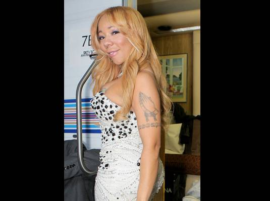 """Tiny's Drug Charge Dropped - A Los Angeles judge dismissed a misdemeanor drug possession charge against T.I.'s wife Tameka """"Tiny"""" Harris on Thursday. Back in September she and her husband were caught with ecstasy in their vehicle after being pulled over – an incident that led to her husband being sent back to prison in November for parole violation."""