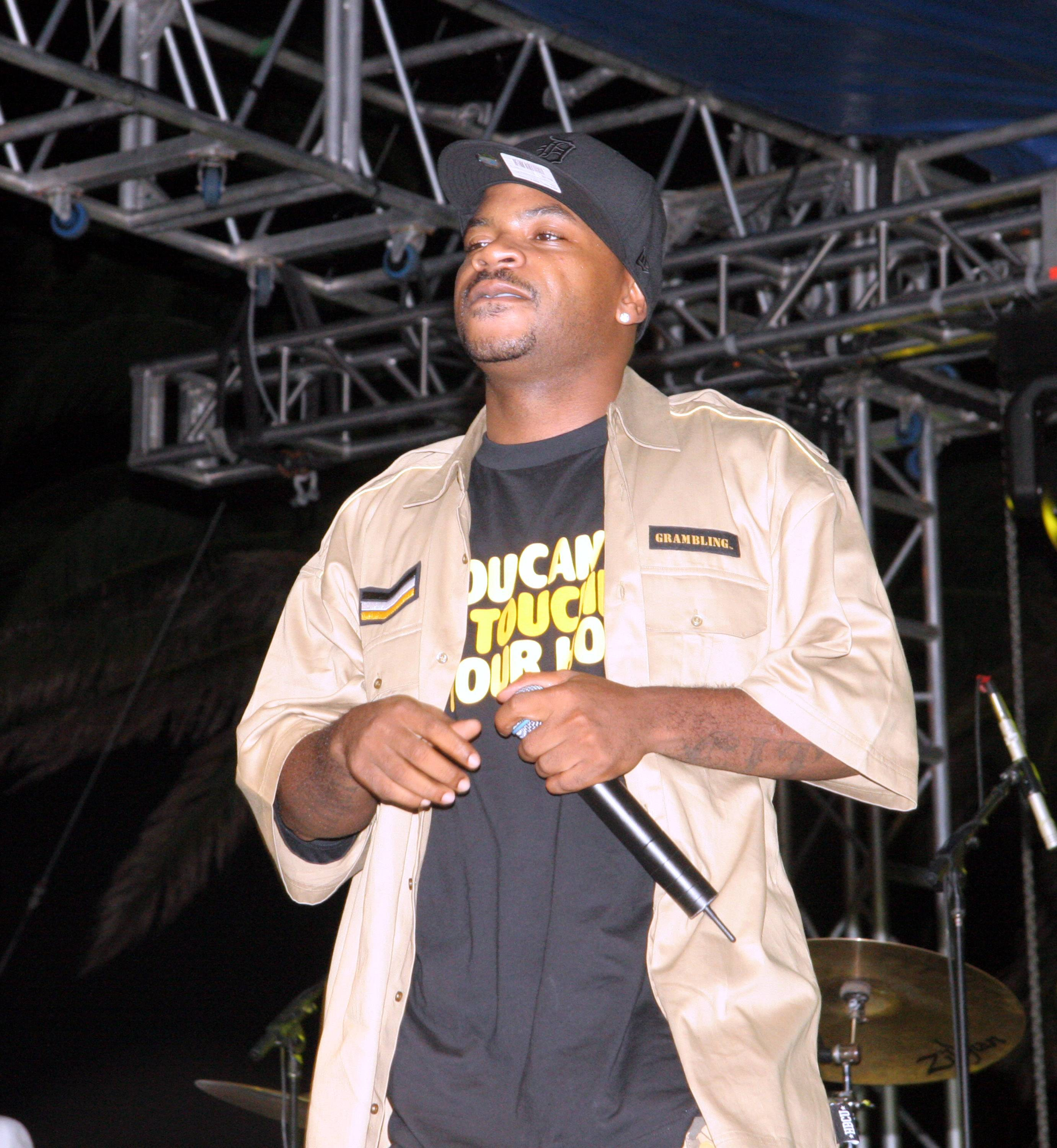 """Obie Trice featuring Nate Dogg, """"The Set Up"""" - The third single from Obie Trice's debut album, this cut brought Nate from the West to the D over a Dr. Dre beat.(Photo: Johnny Nunez/WireImage)"""