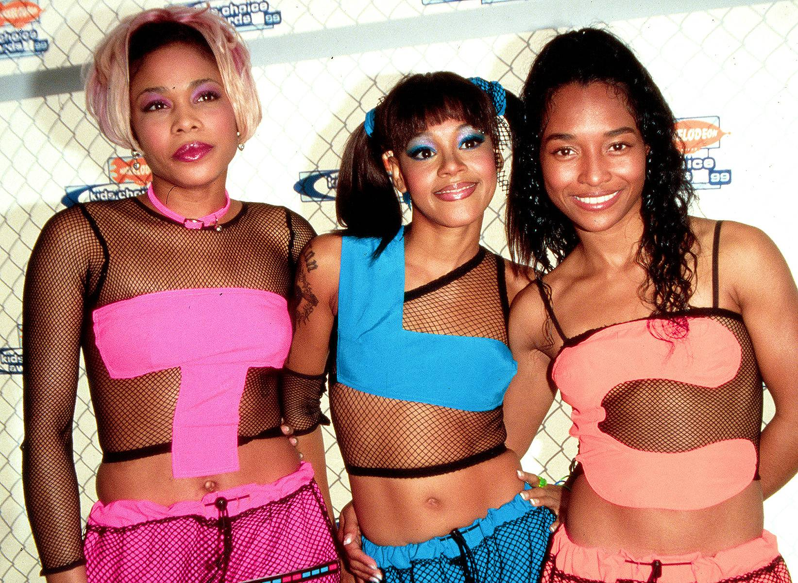 T-Boz, Left Eye and Chilli  - TLC was not just some '90s girl group, these ladies were the epitome of how to dress, sing and dance in that era. They were the first female group who had an album reach diamond status, that's dynamic! The trio is made up of T-Boz, who is the assertive and funky member; Chilli, who is the sexy and smooth member; and the never forgotten and forever loved Left Eye, who was the outspoken and wild member of the group. (Photo: PA Photos /Landov)