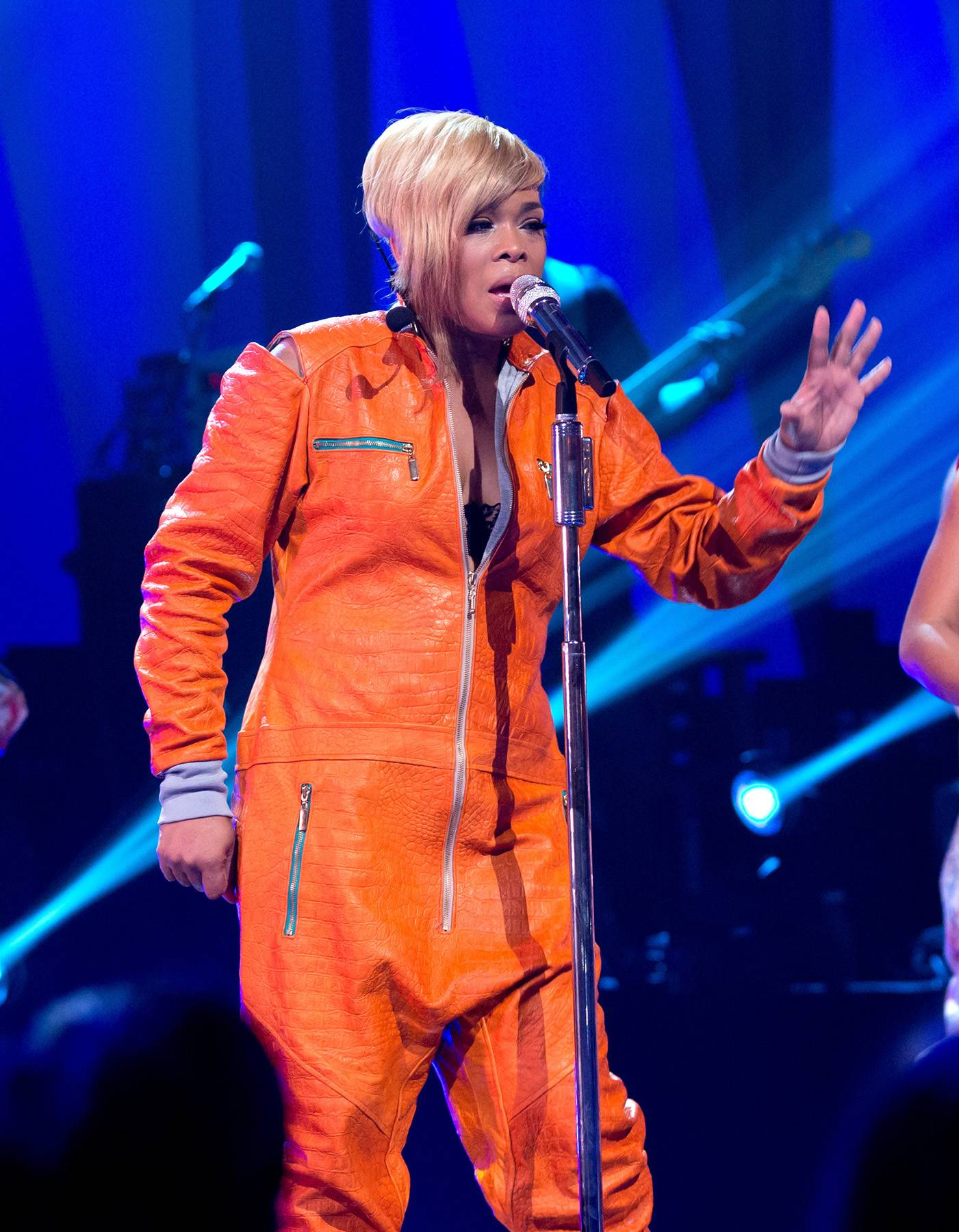 Crazy Sexy Cool  - TLC's T-Boz has gone on a fantastic journey, from being a part of one of the biggest and best girl groups of all-time to producing a VH1 film called CrazySexyCool, about TLC's career and much more. T-Boz still continues to pursue music and keep Left Eye's legacy alive through the art her and Chilli create. (Photo: WENN.com)