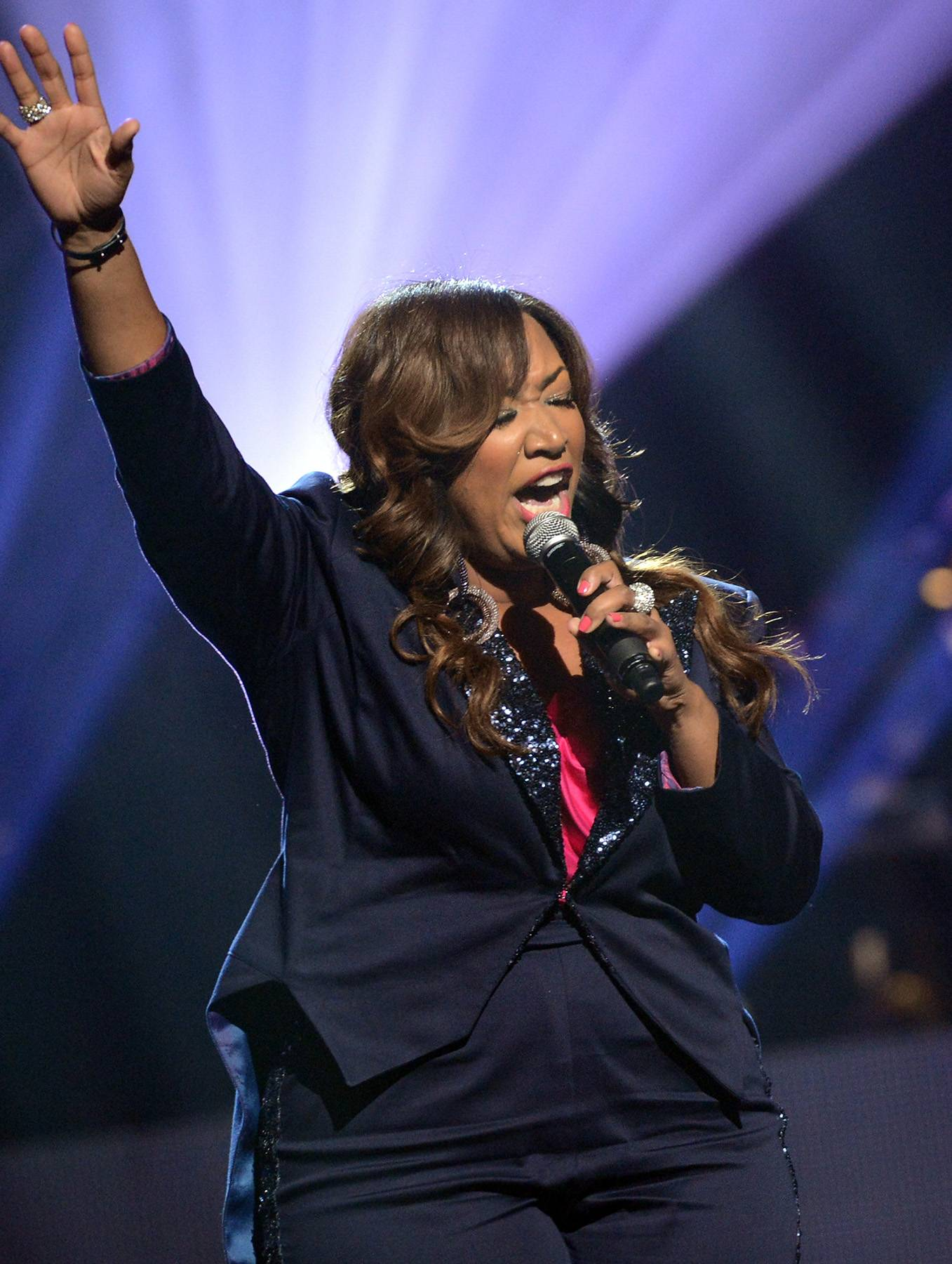 Celebrate the Lord  - Y'Anna Crawley is not to be missed on BET's recent episode of Bobby Jones Gospel. (Photo: Rick Diamond/Getty Images for The Stellar Awards)