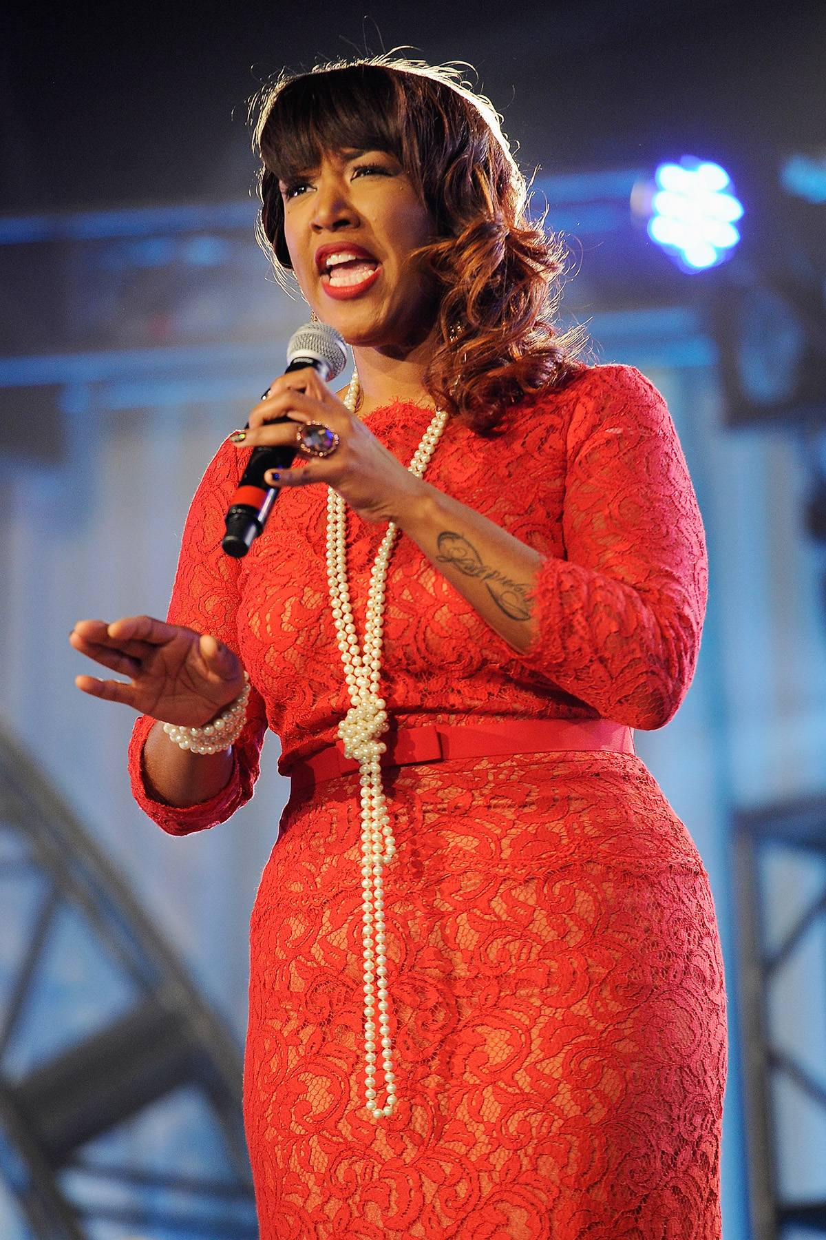 Sunday Best  - Promise singer Y'Anna Crawley brings us the same energy that she displayed on Sunday Best. (Photo: Erika Goldring/Getty Images)