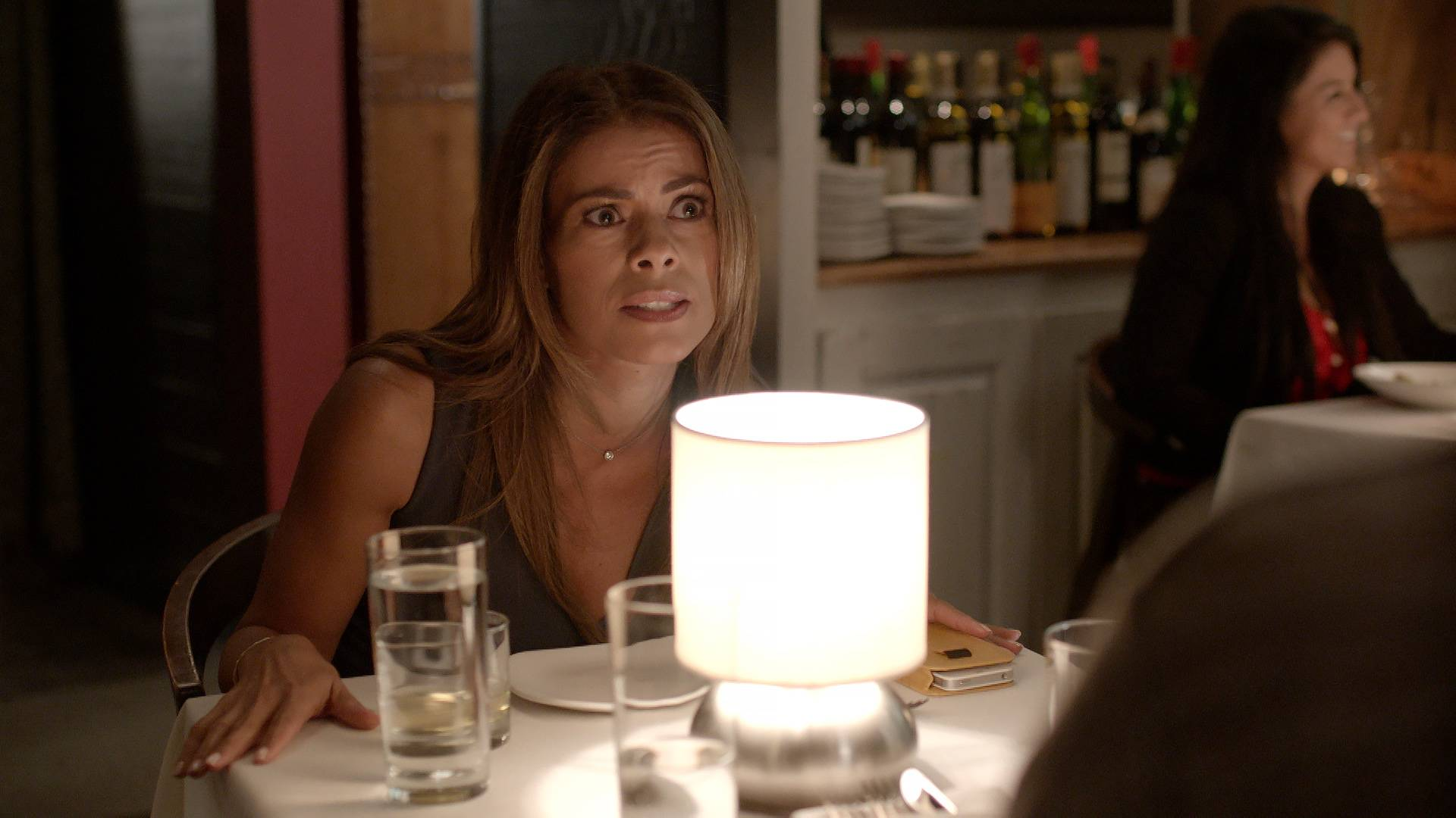 Kara Gives Gael a Chance - Kara plays hardball when it comes to everything, so this date didn't go so smooth.   (Photo: BET)