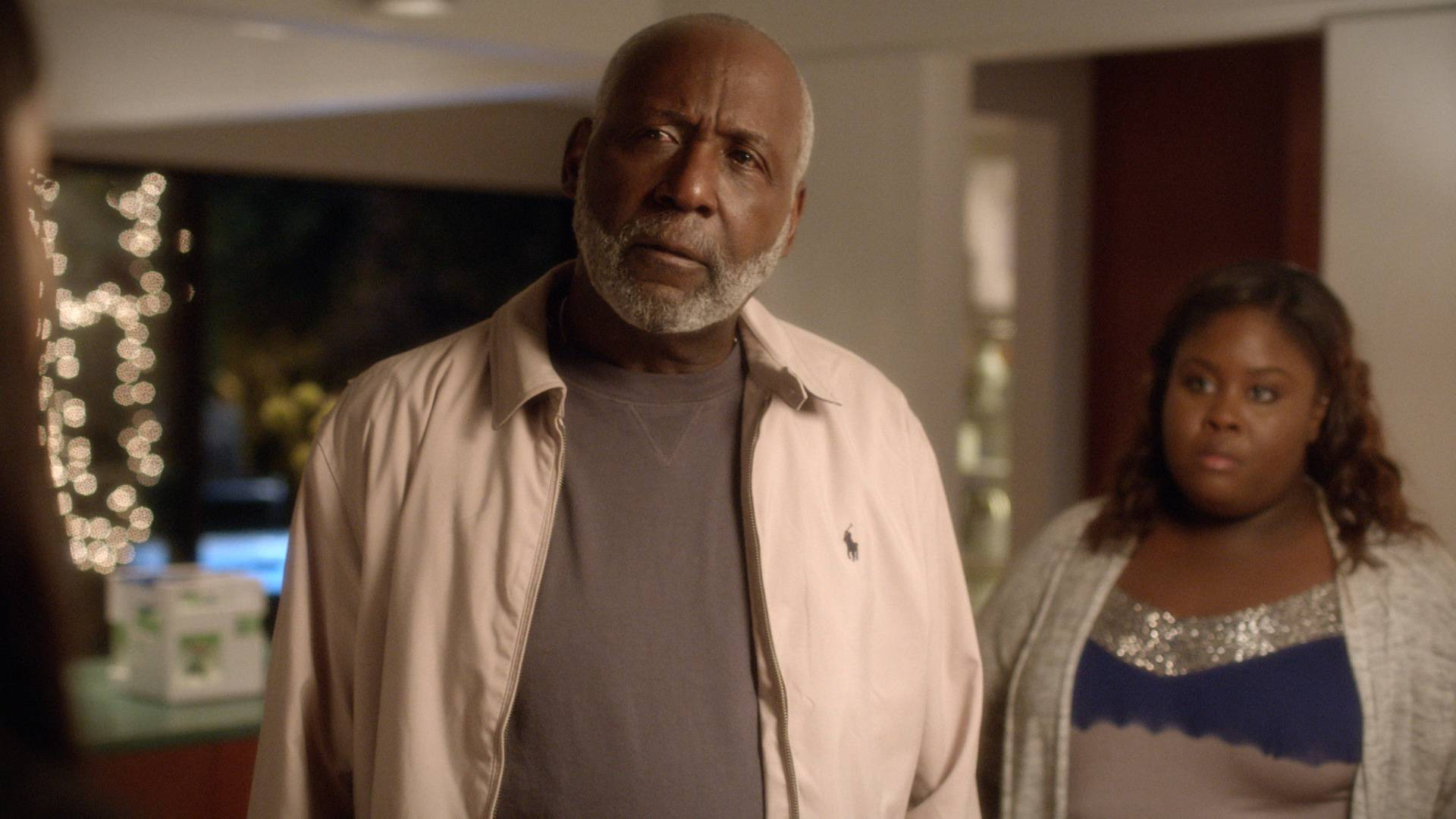 Dad Steps In  - Paul Sr. steps in to mediate the drama between his daughter and granddaughter, and it's not pretty.   (Photo: BET)