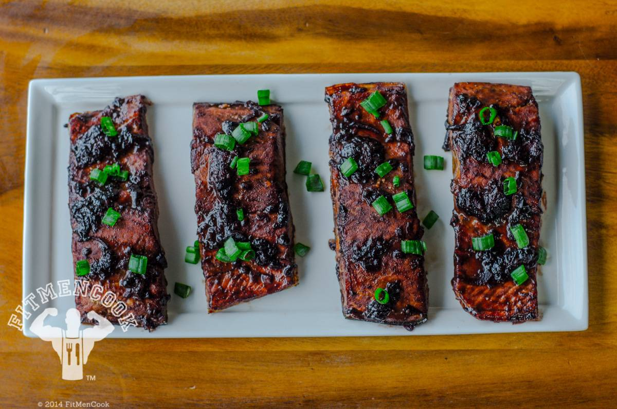 Salmon With a Twist - Jazz up your salmon, BBQ style.  (Photo: Kevin Curry)