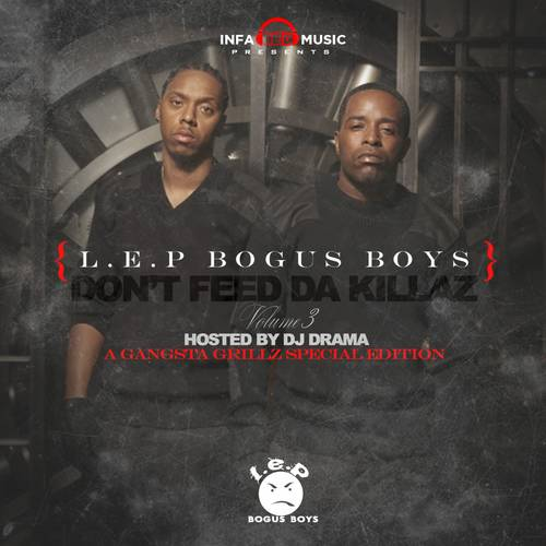 """L.E.P. Bogus Boys - Kanye has never turned his back on his hometown and stays assisting upcoming Chi-town artists. When he put his stamp on Chief Keef's """"I Don't Like,"""" he mentioned the L.E.P. Bogus Boys and according to Moonie that was a huge deal. He told XXL, ?That was big. We knew Kanye since way back, before Roc-a-fella ... so we definitely appreciate Kanye for shouting us out.?(Photo: Infared Music Group)"""