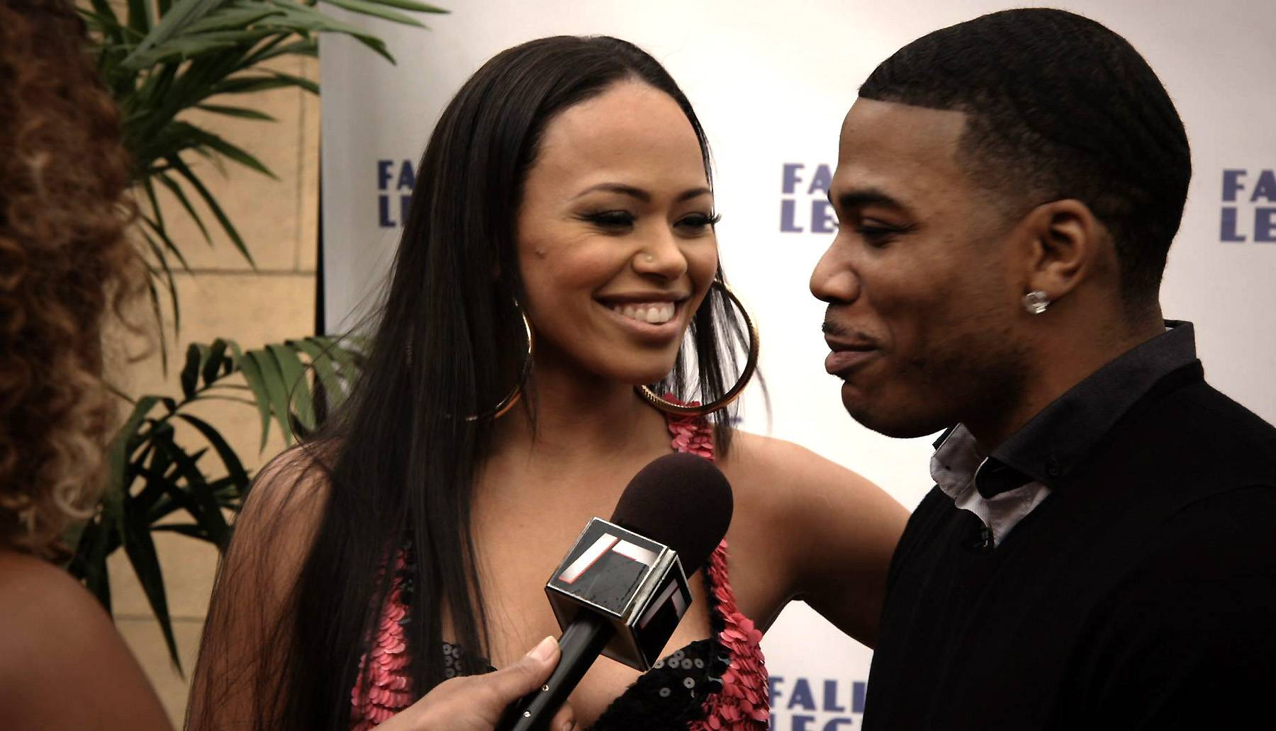 A New Face in Nellyville? - Nelly took Elle Varner to the premiere? That's not a good idea.  (Photo: BET)
