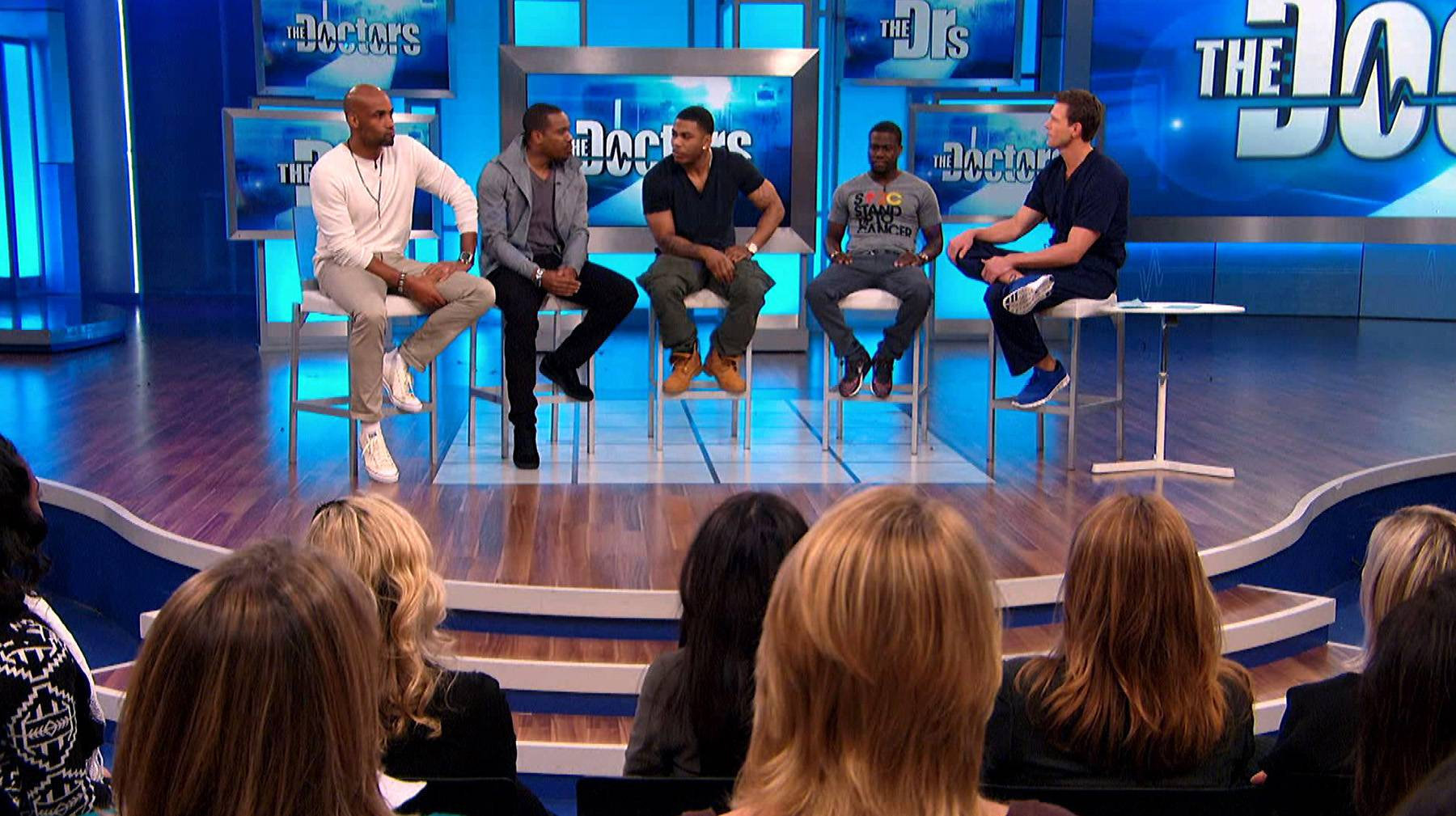 Sounds Like the Guys Took a Test - Whoever is a match might have the key to saving Nick.(Photo: BET)
