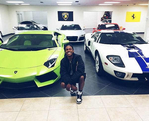 Cars - We all know how much he loves cars. (Photo: LIL SHAWN via Instagram)