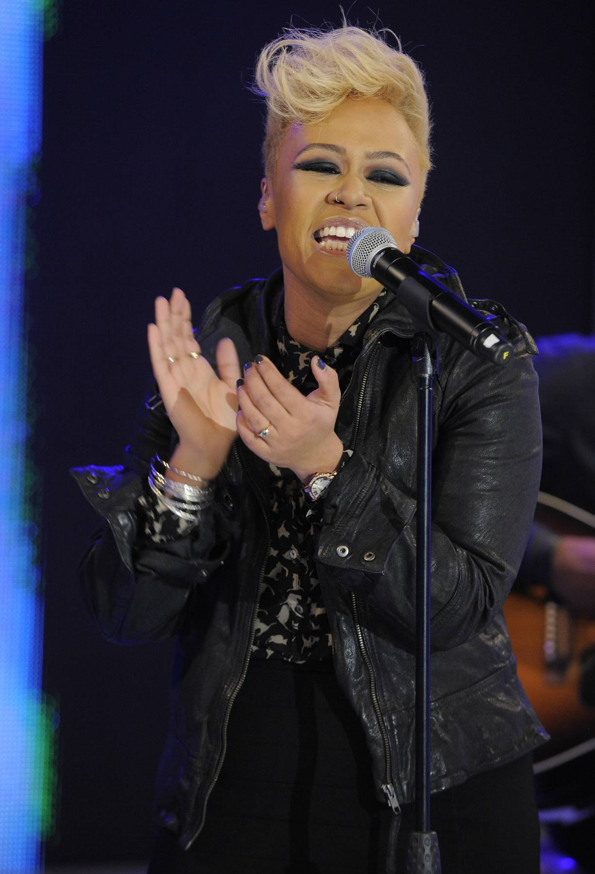 Fresh Face  - Although Emeli was new to the 106 audience, her debut album, Our Version of Events, is already No. 1 in the U.K. It's set for release in the states on June 5.(Photo: John Ricard/BET)