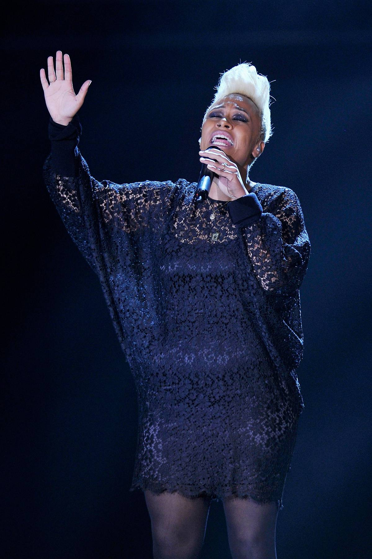 Emeli Sand? - Emeli Sand? is sitting pretty in the Best International Act: U.K. category after she topped charts overseas with her debut album, Our Version of Events, and landed on 106 & Park.(Photo: Gareth Cattermole/Getty Images)